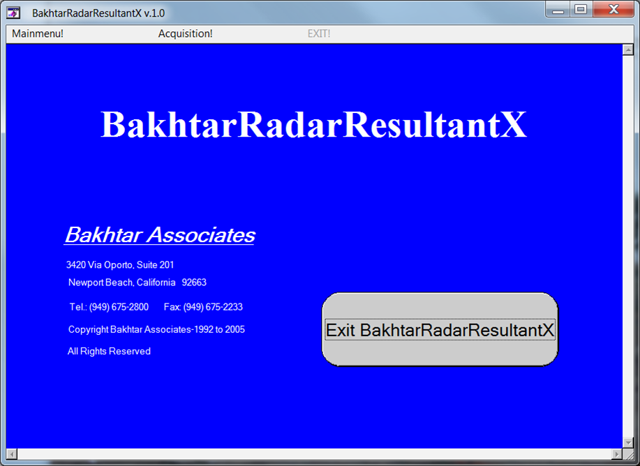 screenshot - BakhtarRadar